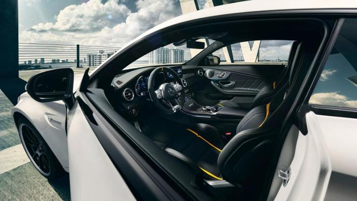 Mercedes-Benz C-Class Coupe 2020 Interior 001