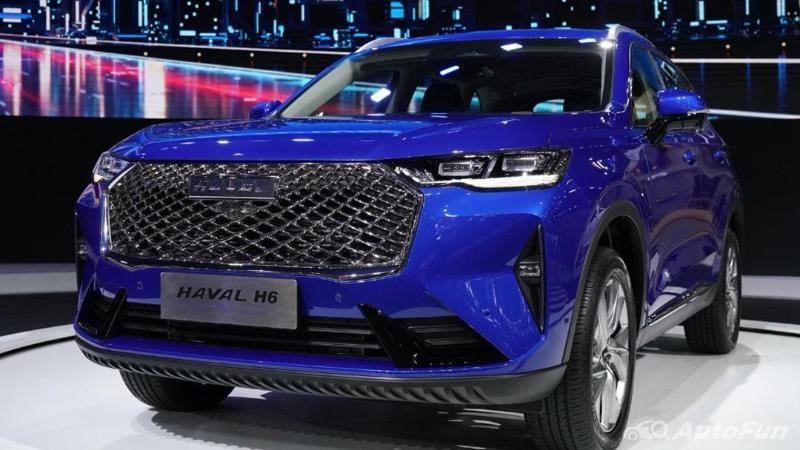 ดูก่อนซื้อ รวมราคาและแคมเปญ C-SUV ราคาไม่เกิน 1.5 ล้านคู่แข่งสุดร้อนแรงของ 2021 Haval H6 HEV 02