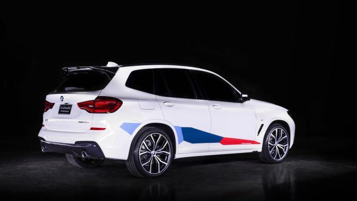 2021 BMW X3 xDrive20d M Sport Exterior 002