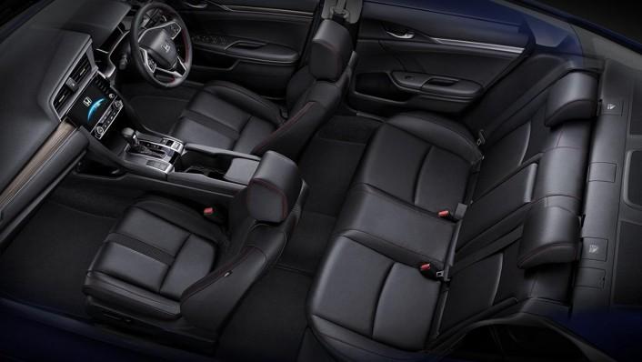 Honda Civic 2020 Interior 009