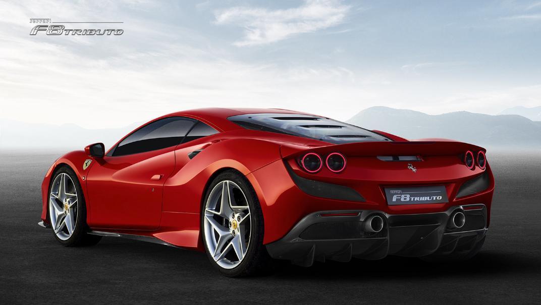 2020 Ferrari F8 Tributo 3.9 V8 Exterior 003