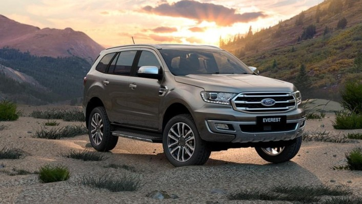 Ford Everest 2020 Exterior 005