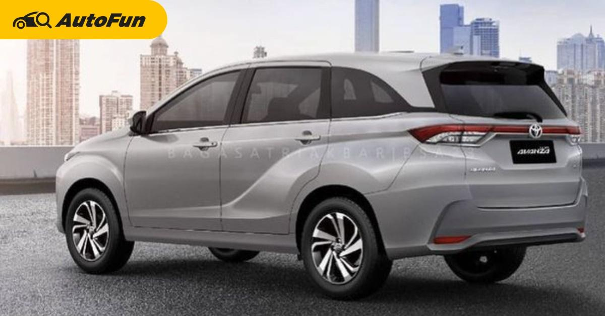 2022 Toyota Avanza จะอัดระบบความปลอดภัย เหนือชั้น BR-V/Xpander/Ertiga 01