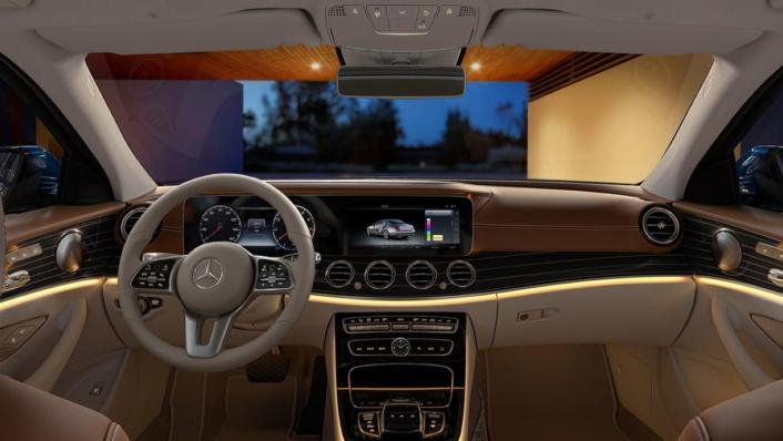 Mercedes-Benz E-Class Saloon Public 2020 Interior 001