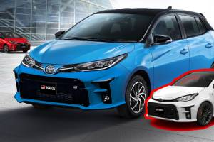 Rendered 2022 Toyota Yaris GR Sport แปลงหน้าใหม่ ใช้กันชนของรถ GR Yaris คันเป็นล้าน