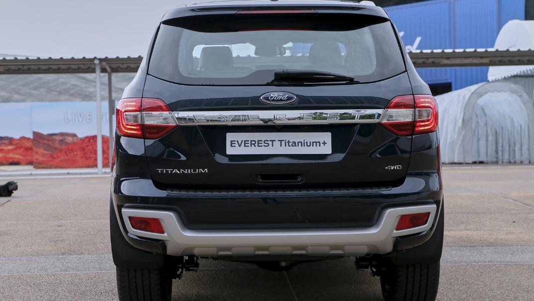 2021 Ford Everest Titanium+ Exterior 003
