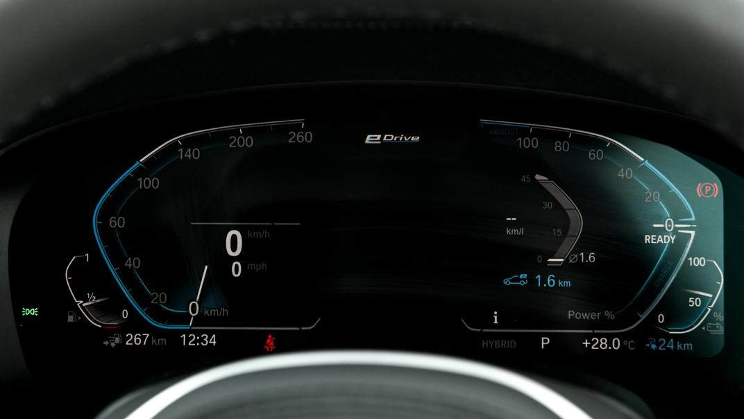 2021 BMW 5 Series Sedan 530e M Sport Interior 028