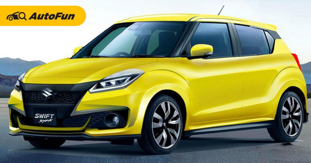 2022 Suzuki Swift ถ้ามาหน้าตาแบบนี้ถูกใจคนรักรถซิตี้คาร์แน่นอน จ่อเปิดตัวเร็ว ๆ นี้ 01