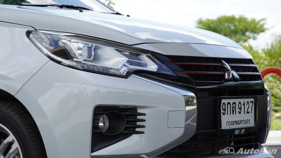 2020 1.2 Mitsubishi Attrage GLS-LTD CVT Exterior 014