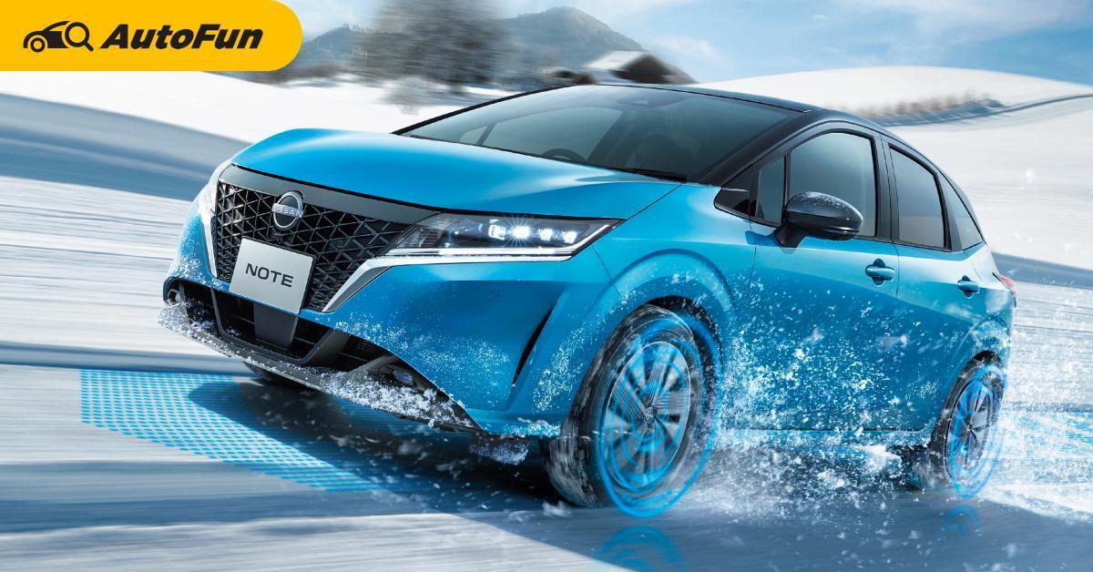 2021 Nissan Note e-Power เพิ่ม AWD มอเตอร์คู่ พร้อมออพชั่นเบาะหันออกตัวรถ 01