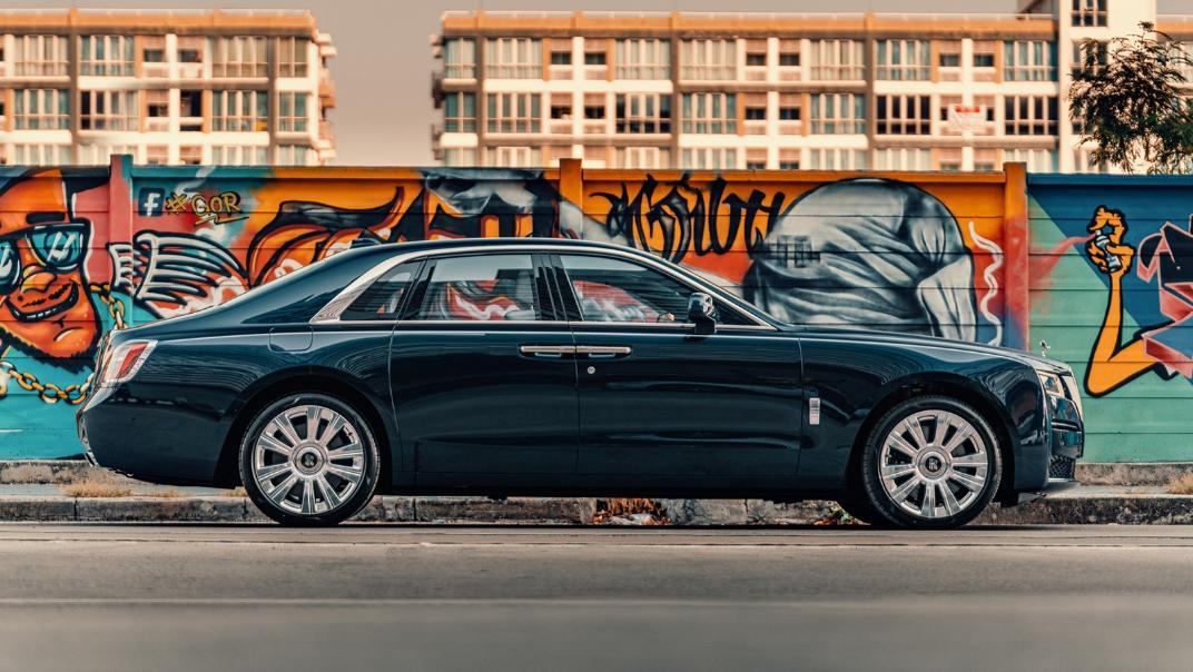 2021 Rolls Royce Ghost Exterior 005