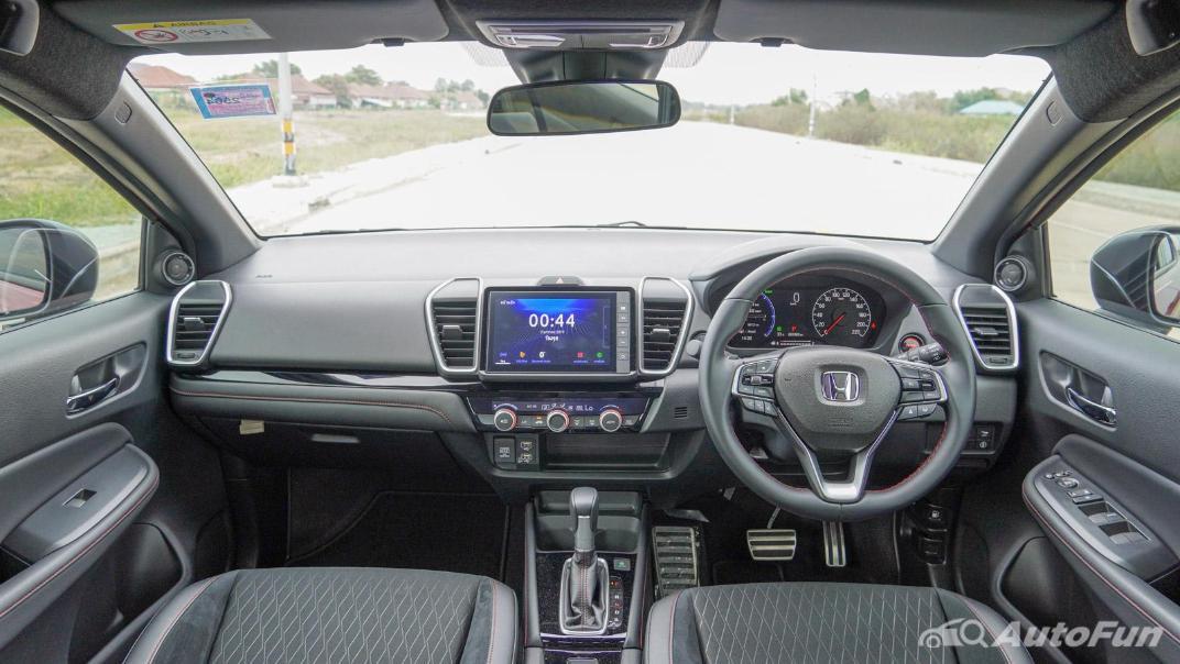 2021 Honda City e:HEV RS Interior 001