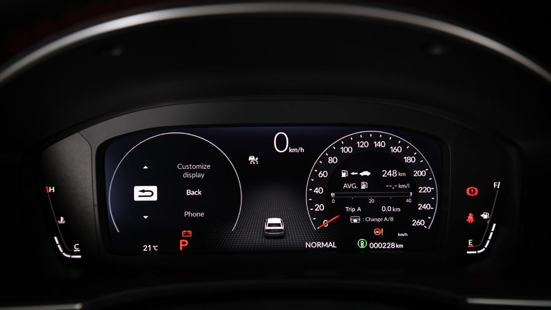 2022 Honda Civic RS Interior 016