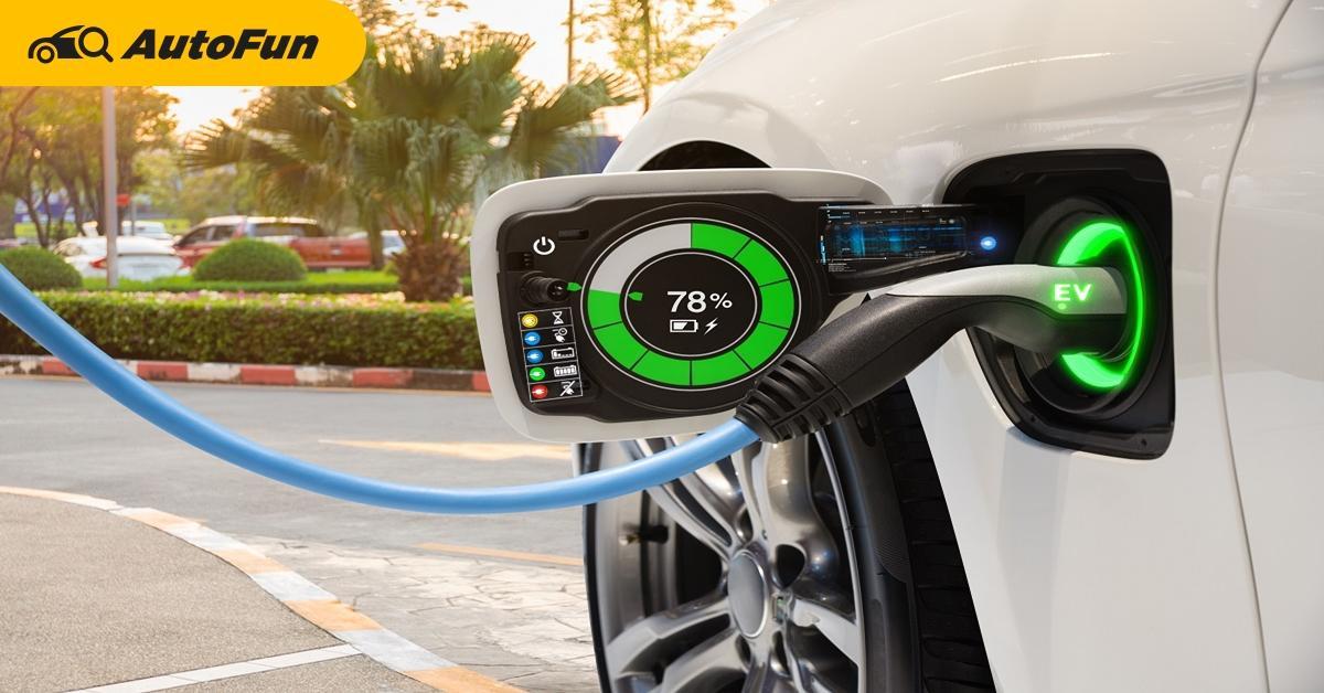 เริ่มแล้ววันนี้ ราชกิจจานุเบกษาใหม่ กำหนดค่าชาร์จแบตรถยนต์ไฟฟ้าเสียค่าไฟ 2.63 บาท/หน่วย 01