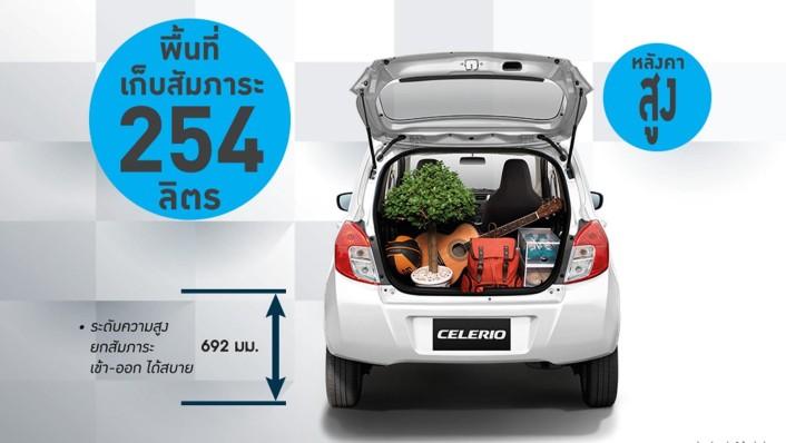 Suzuki Celerio 2020 Interior 006
