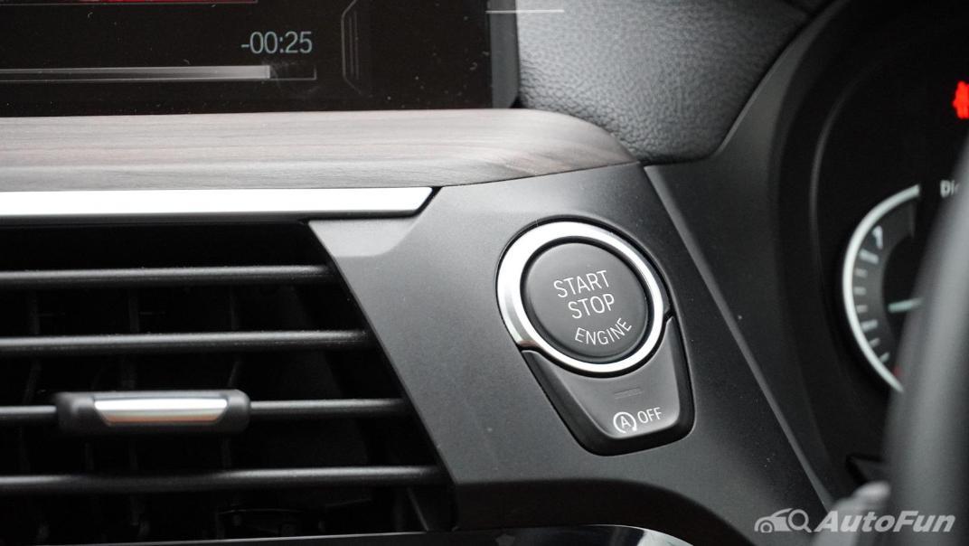 2020 2.0 BMW X3 xDrive20d M Sport Interior 026