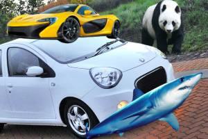 Top 5 รถที่นักออกแบบยอมรับ ว่าเลียนแบบมาจากสัตว์ บางคันประหลาดสุดเท่าที่เราเคยเห็นมา