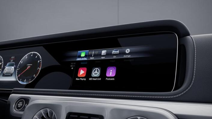 Mercedes-Benz G-Class Public 2020 Interior 003