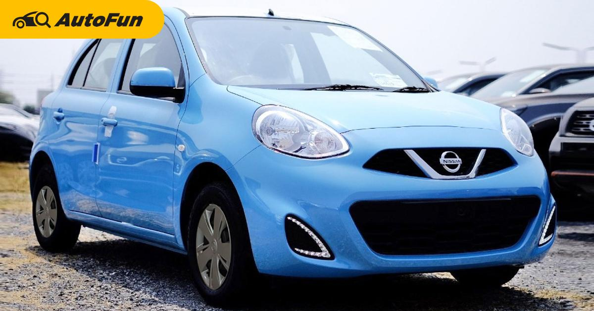 Nissan March ป้ายแดงเหลือ 395,000 บาท คุ้มรึเปล่า มาดูสเปคและตารางผ่อน ครบถ้วนที่นี่ 01
