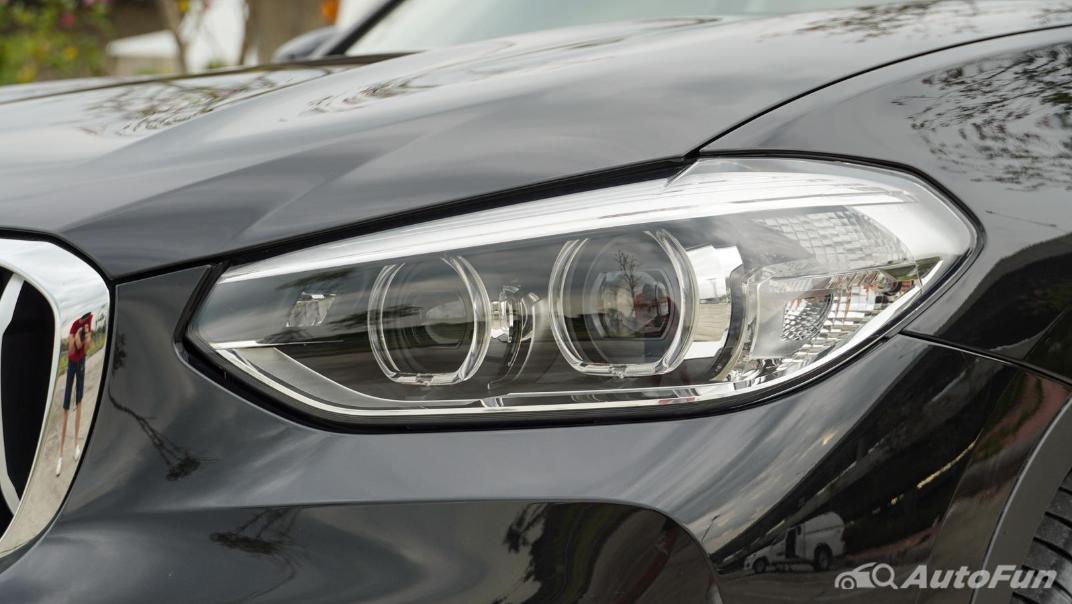 2020 2.0 BMW X3 xDrive20d M Sport Exterior 014