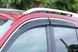 จอดรถตากแดดทุกวัน ติดคิ้วกันสาดให้กับรถยนต์จะดีไหม เผื่อเอาไว้จอดนอนก็ได้