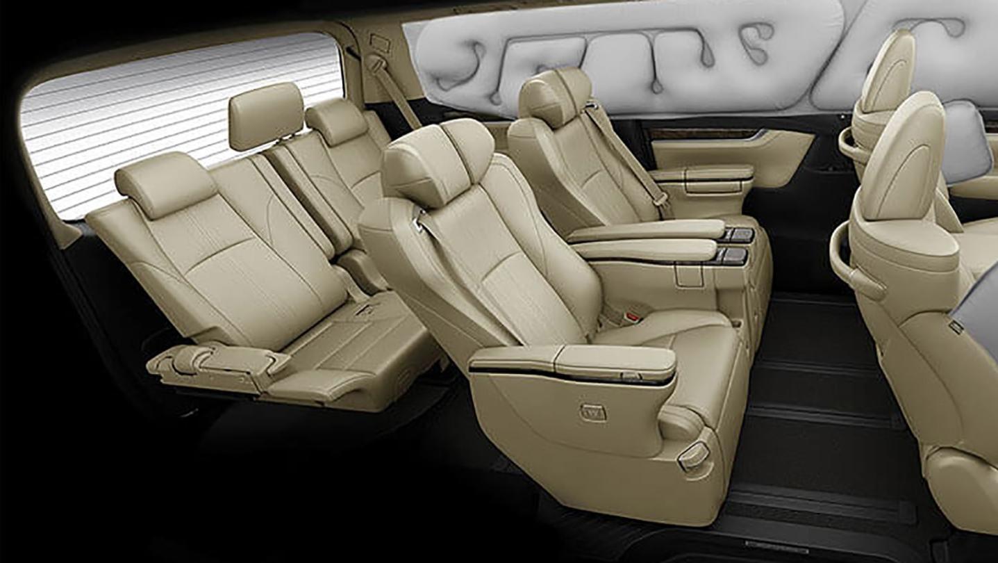 Toyota Alphard 2020 Interior 011