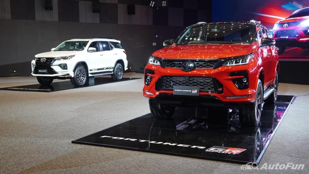 2021 Toyota Fortuner 2.8 GR Sport 4WD Exterior 008