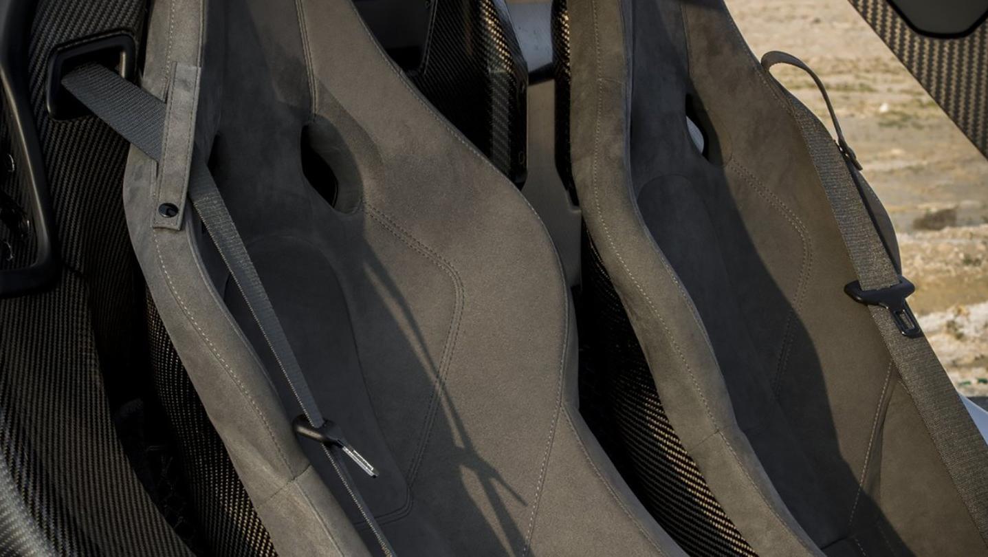 McLaren P1 2020 Interior 002