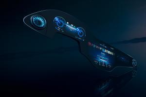 Mercedes-Benz เปิดตัว MBUX Hyperscreen จอยาวพาดเต็มแดชบอร์ด เตรียมใช้ครั้งแรกกับ EQS