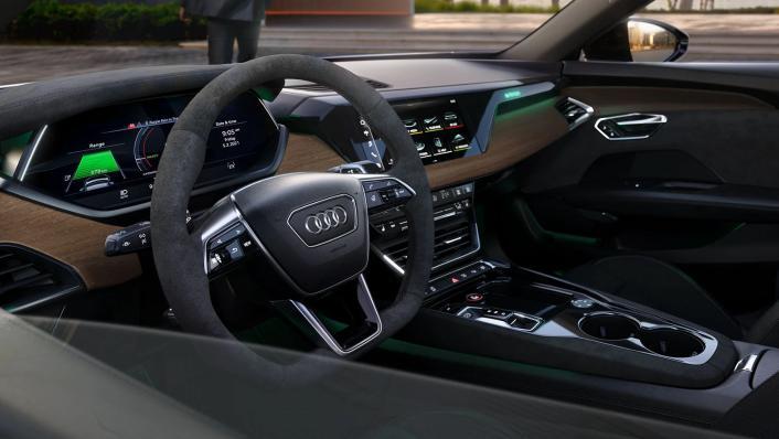 2021 Audi e-tron GT quattro Interior 002