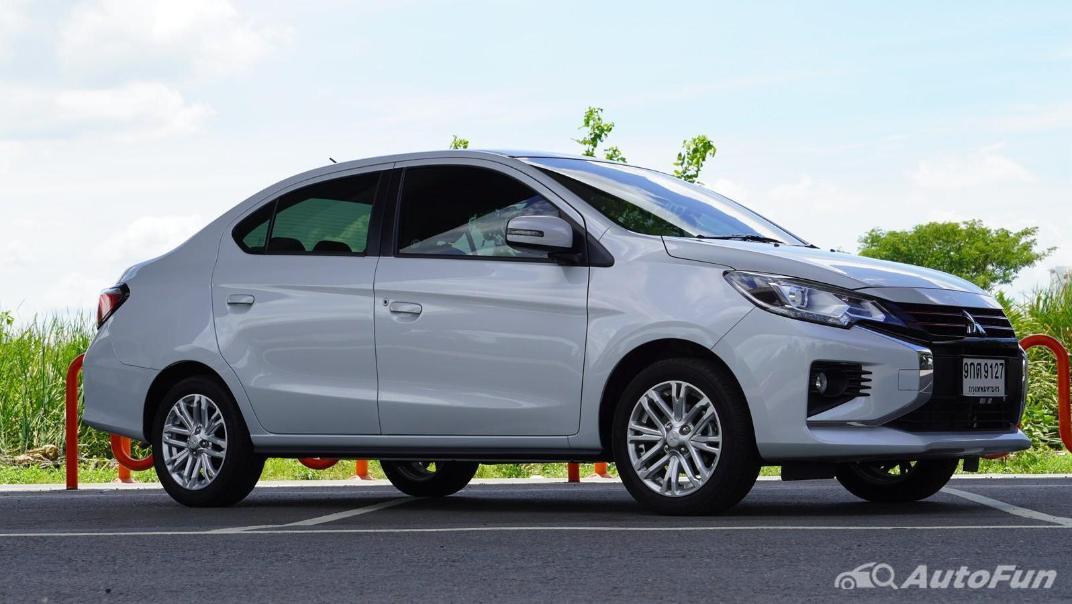 2020 1.2 Mitsubishi Attrage GLS-LTD CVT Exterior 004