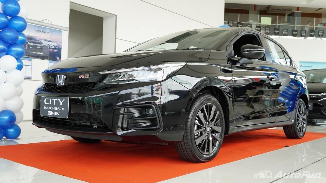 2021 Honda City Hatchback e:HEV RS Exterior 043