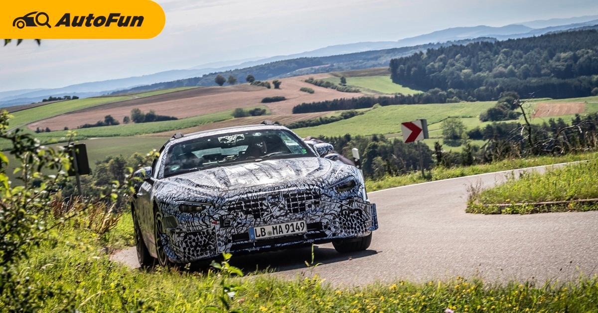 Spyshot Mercedes-Benz SL Roadster ตำนานสปอร์ตเปิดประทุนที่ถูกปลุกขึ้น 01
