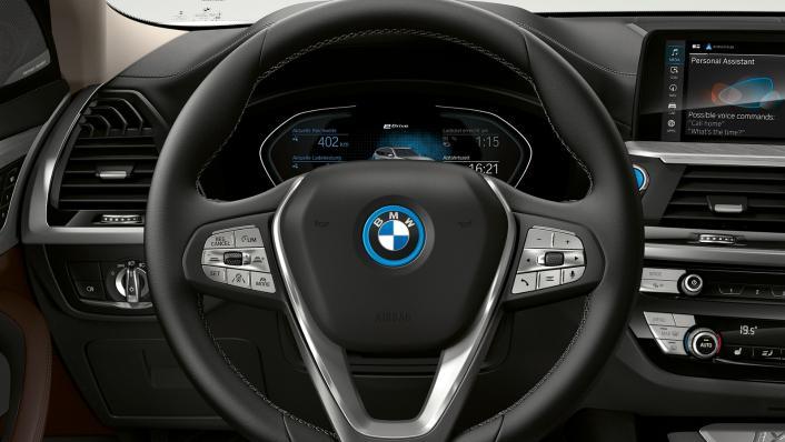 2021 BMW iX3 M Sport Interior 007