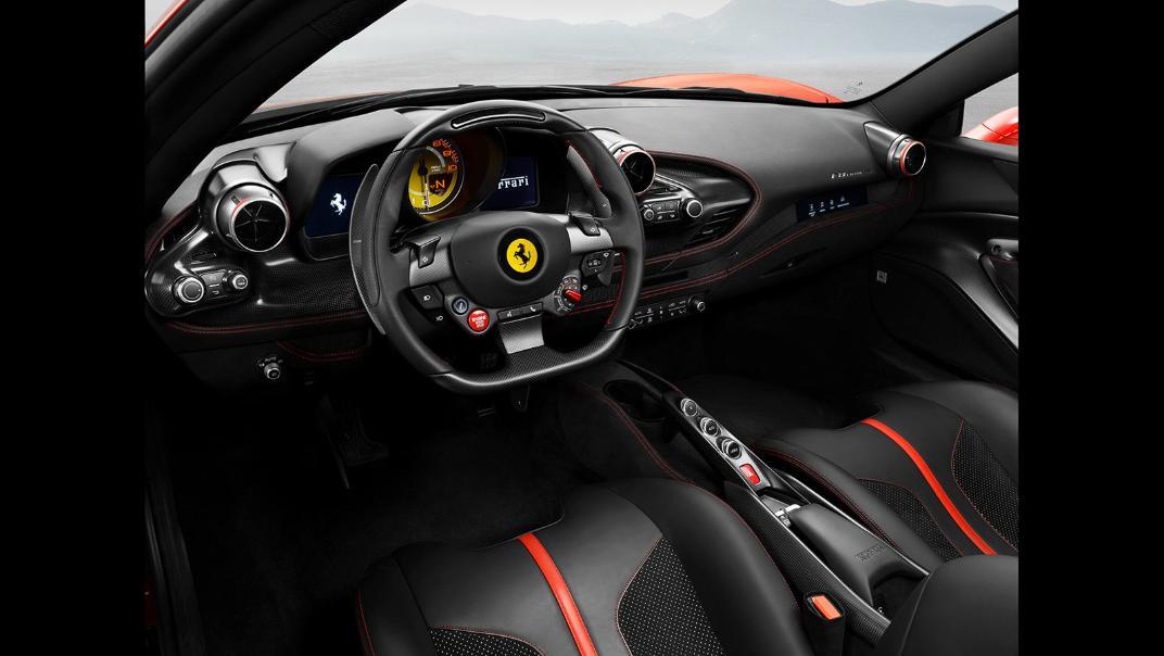 2020 Ferrari F8 Tributo 3.9 V8 Interior 002