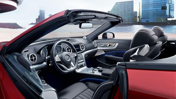 Mercedes-Benz Sl Roadster 2020 Interior 003