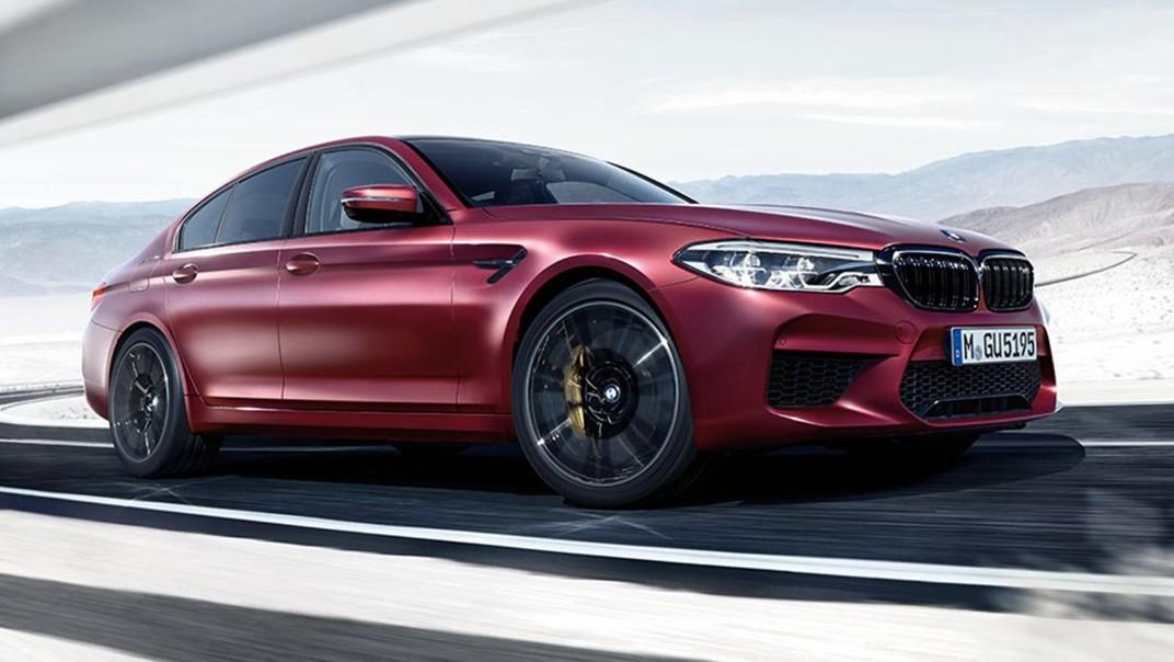 BMW M5-Sedan Public 2020 Exterior 008