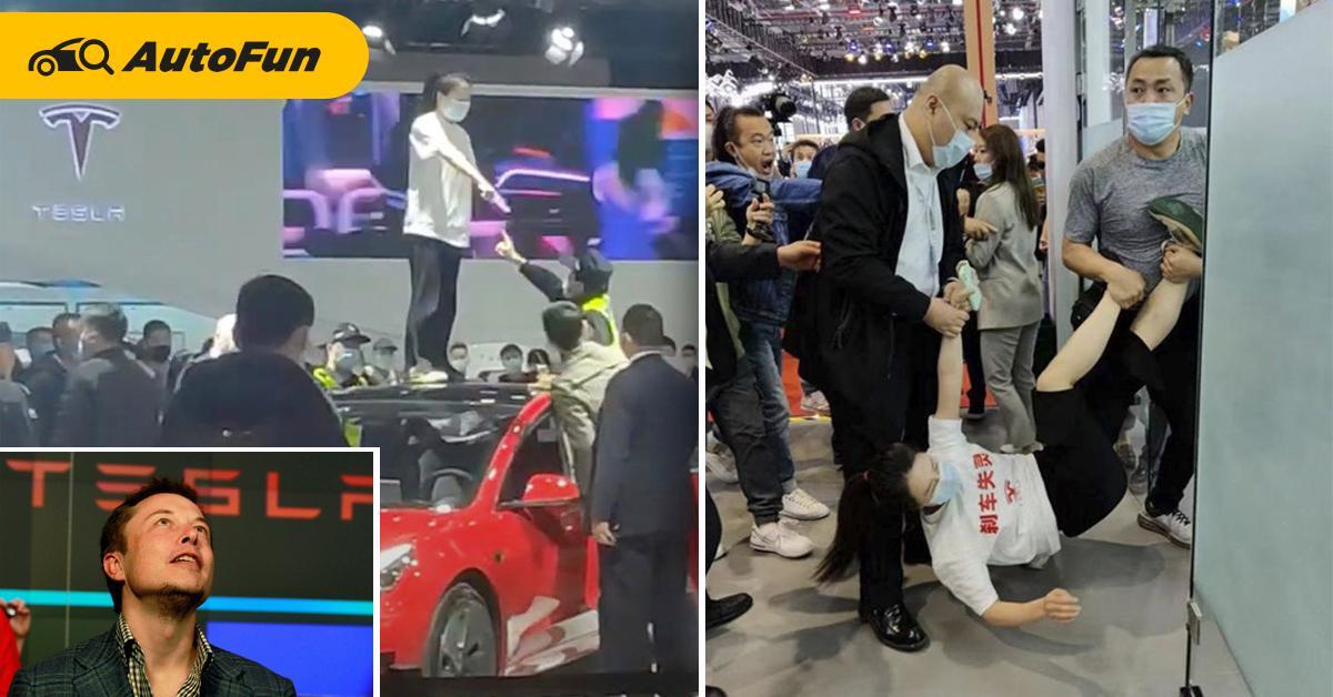 สาวจีนประท้วง Tesla ถูกจับขัง 5 วัน – รัฐบาลแดนมังกรแนะผู้บริโภคอย่าแสดงออกสุดโต่ง 01