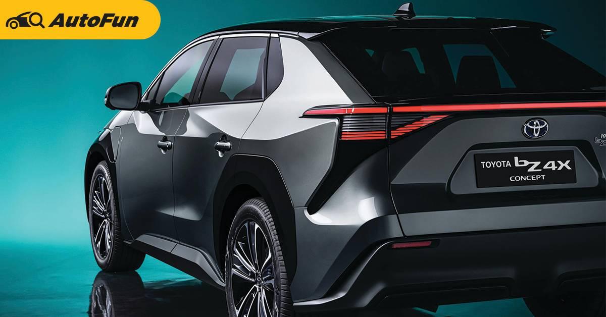 Toyota BZ4X รถยนต์ไฟฟ้าคันแรกของโตโยต้า เลื่อนการขายไปปลายปี 2022 01