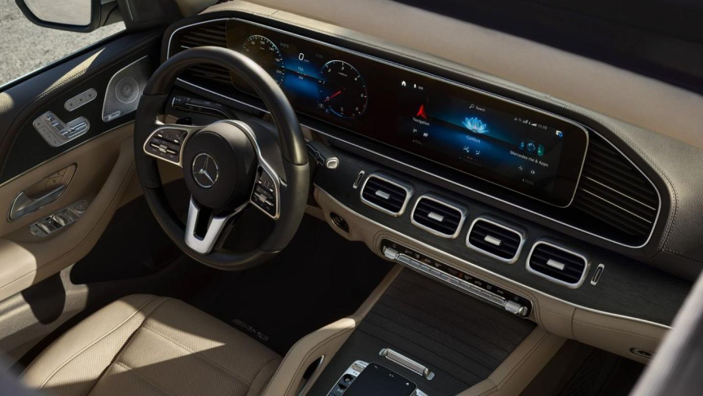 Mercedes-Benz GLS-Class 2020 Interior 012