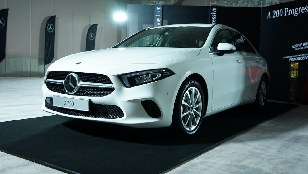 2021 Mercedes-Benz A-Class A 200 Progressive Exterior 028