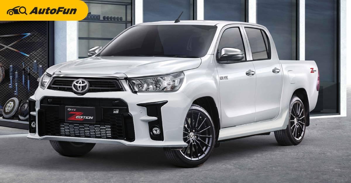 Toyota Hilux Revo GR Sport แต่งซิ่งทางเรียบ เรนเดอร์หน้ารถจาก GR Yaris ราคาหลายล้าน 01