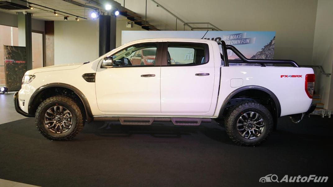 2021 Ford Ranger FX4 MAX Exterior 002