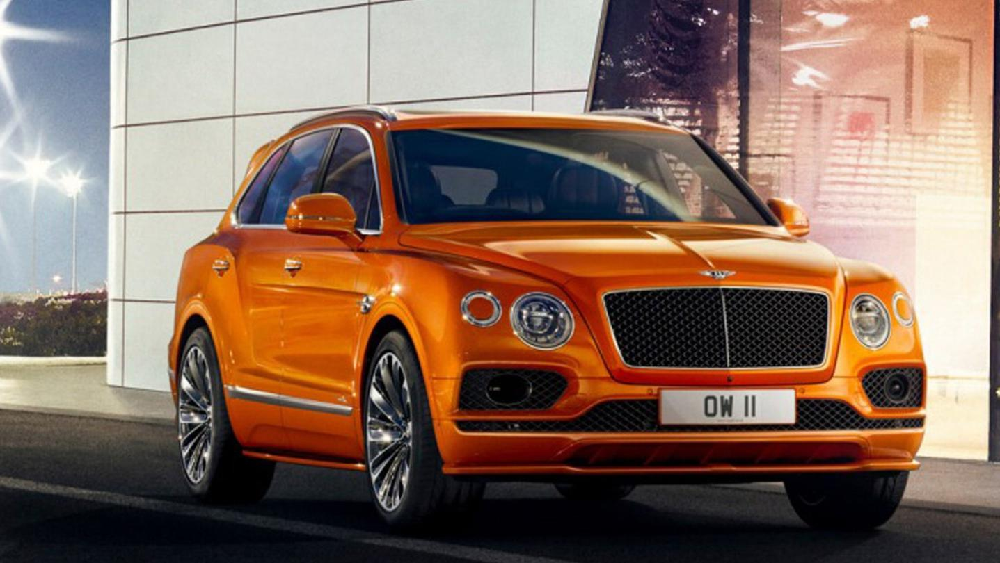 Bentley Bentayga 2020 Exterior 002