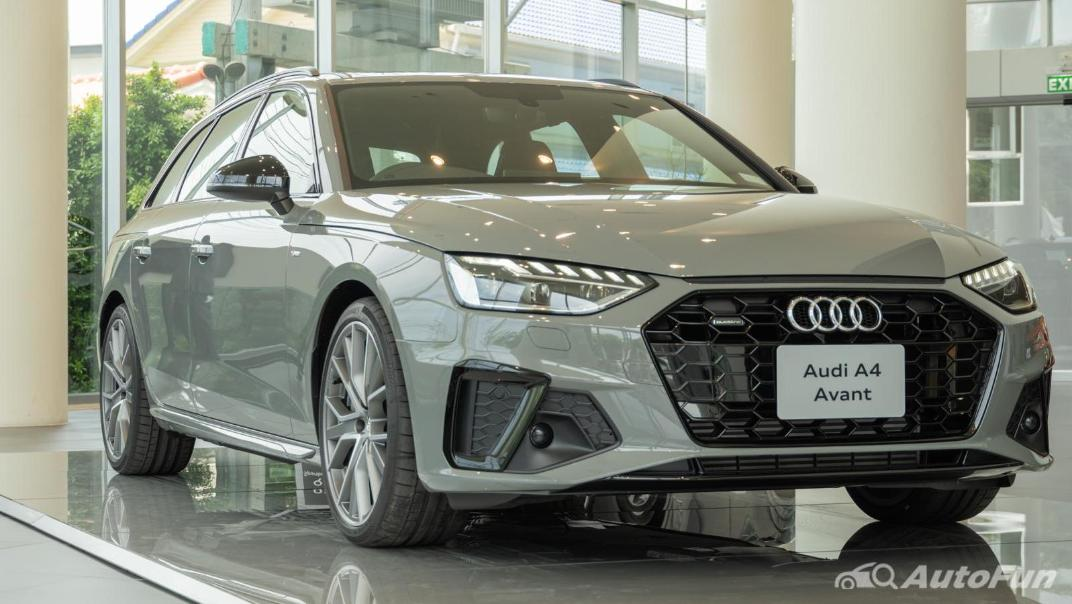 2020 Audi A4 Avant 2.0 45 TFSI Quattro S Line Black Edition Exterior 060