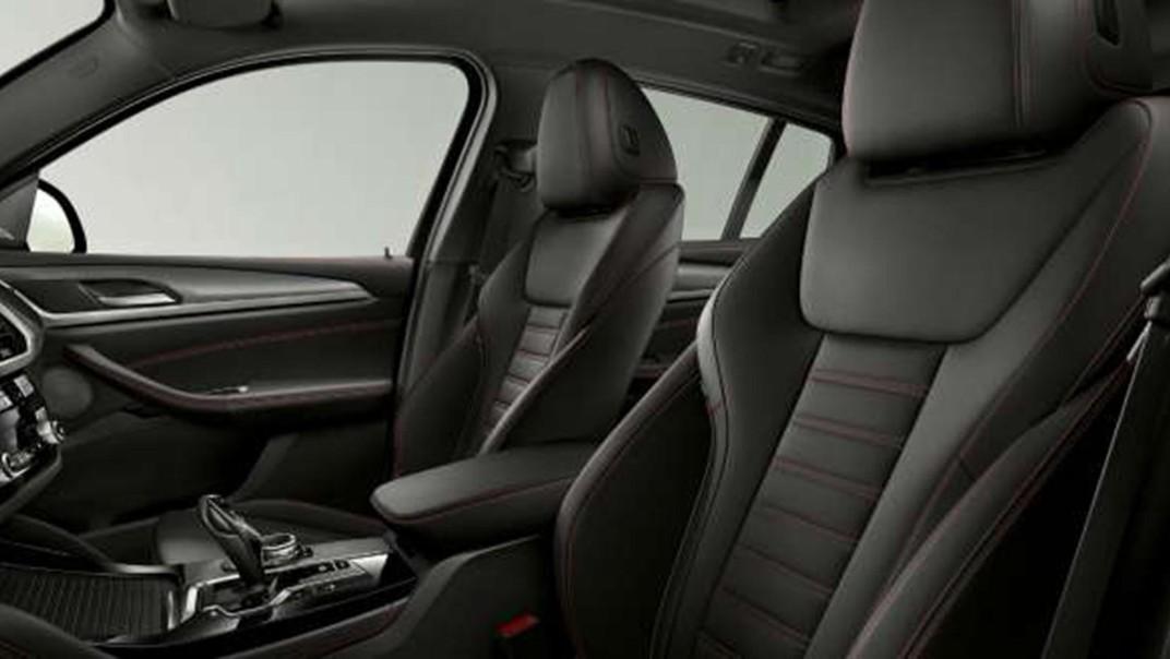 BMW X4-M Public 2020 Interior 008