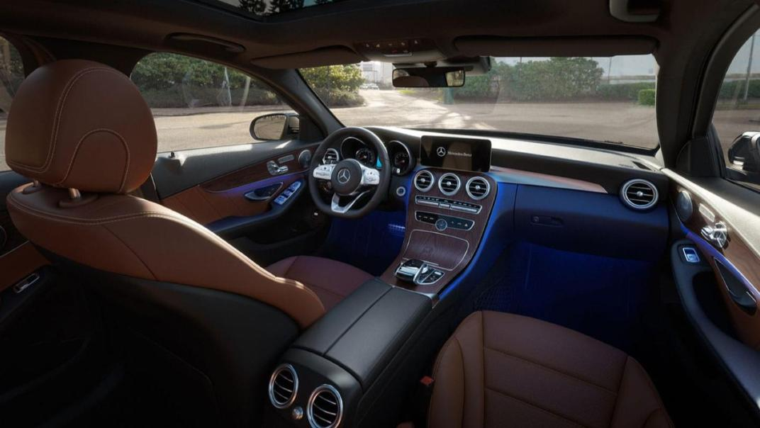 Mercedes-Benz C-Class Saloon 2020 Interior 012
