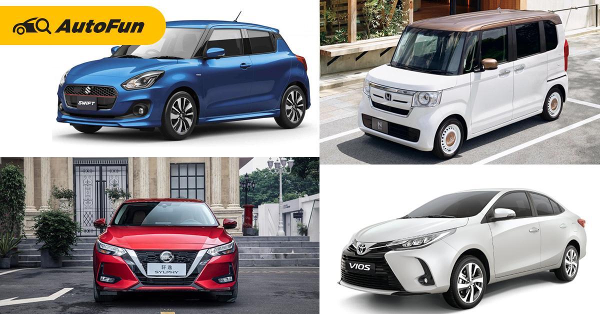 สำรวจรถขายดีที่สุดในเอเชีย Honda ผงาดในญี่ปุ่น Suzuki ครองใจคนอินเดีย แล้วเมืองไทยล่ะ? 01