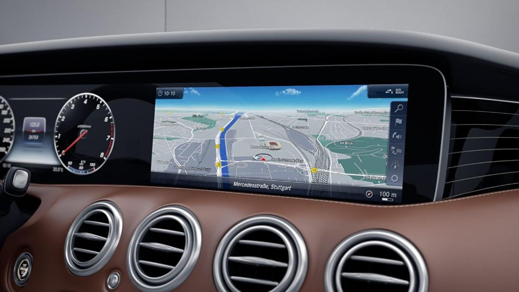 Mercedes-Benz S-Class Coupe 2020 Interior 003