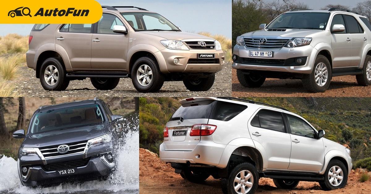 ทุกคนรู้ว่า Toyota Fortuner คืออะไร แต่ทราบกันหรือยังว่า Toyota Fortuner มีที่มาอย่างไร? 01